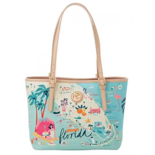 Greetings from Florida Small Map Tote